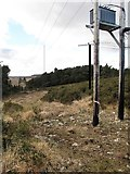 J3630 : Electricity transformer on the summit of Drinnahilly by Eric Jones
