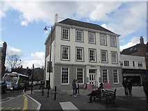SO8554 : People at the junction of High and College Streets by Basher Eyre
