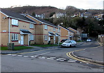ST0894 : David Dower Close, Abercynon by Jaggery