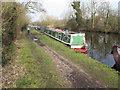 TQ0588 : Arkady, narrowboat near Harefield by David Hawgood