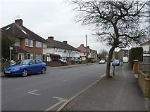TQ1185 : Houses on the south side of Long Drive, South Ruislip by Christine Johnstone