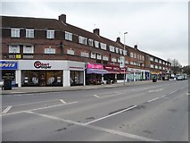 TQ1185 : Parade of shops, Victoria Road, South Ruislip by Christine Johnstone