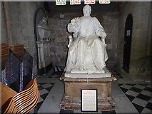 SO8554 : Inside Worcester Cathedral (li)  by Basher Eyre