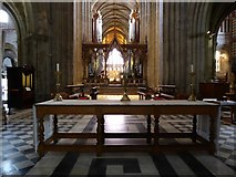 SO8554 : Inside Worcester Cathedral (lix)  by Basher Eyre
