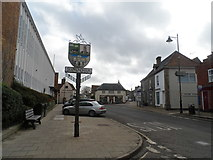 TM3863 : Saxmundham, High Street by Bikeboy