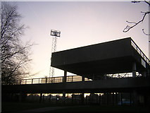 TQ3470 : Entrance to the National Sports Centre, Crystal Palace Park by Christopher Hilton