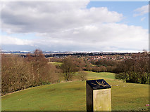 SD8304 : Looking Eastwards from the Temple at Heaton Park by David Dixon