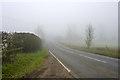 TL0228 : Misty morning on B530 by Robin Webster