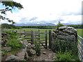SH5170 : Kissing gate on the Anglesey Coast Path near Llwyn Onn Farm by Eirian Evans