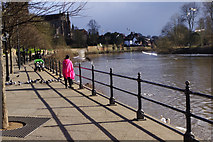 SO8454 : River Severn, Worcester by Stephen McKay