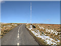 SD6513 : Winter Hill Transmitter Access Road by David Dixon