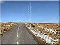 SD6513 : Winter Hill Transmitter Access Road by David Dixon