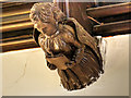 SD6911 : Ceiling Angel, Smithills Chapel by David Dixon