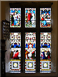 SD6911 : Smithills Chapel, Stained Glass Window by David Dixon