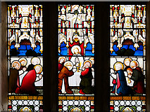 SD6911 : Smithills Chapel, Stained Glass Window Detail (1) by David Dixon