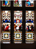 SD6911 : Smithills Chapel, Stained Glass Window Detail (3) by David Dixon