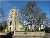 SK6994 : St John the Baptist Church in Misson by Neil Theasby