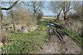 ST3940 : Moorclose Drove East by Derek Harper