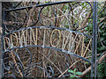 TQ3679 : Overgrown Gate, Downton Road, Rotherhithe, SE1 by Christine Matthews