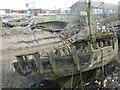TF6120 : Old fishing boat - The Fisher Fleet, King's Lynn by Richard Humphrey