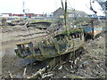 TF6120 : Fishing boat graveyard - The Fisher Fleet, King's Lynn by Richard Humphrey