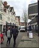 SO8554 : Pump Street, Worcester by Robin Stott