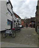 SO8454 : Fish Street, Worcester by Robin Stott