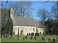 SE7653 : St  Martin's  parish  church  Fangfoss by Martin Dawes
