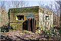 SZ1892 : WWII defences in the environs of Bournemouth & Christchurch: Mudeford Wood, Christchurch - pillbox (1) by Mike Searle