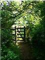 SH5280 : Kissing gate on the Anglesey Coast Path by Eirian Evans