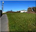 SS5199 : Path towards a Vodafone site, Bigyn, Llanelli by Jaggery