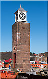 NM8529 : Station Square clock - Oban (March 2016) by The Carlisle Kid