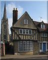 TL5338 : Saffron Walden: in Bridge Street by John Sutton