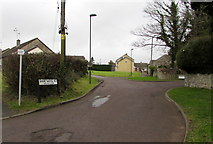ST6976 : Access road to the Homefield Centre, Pucklechurch by Jaggery