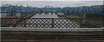 NZ2463 : River Tyne and Bridges by Dave Pickersgill