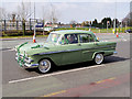 SD8400 : Manchester Irish Festival Parade, Emerald Green Vauxhall Victor by David Dixon