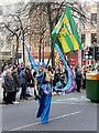 SJ8398 : Manchester Irish Festival Parade, John Dalton Street by David Dixon