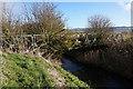 SE9717 : Disused bridge over Weir Dike by Ian S