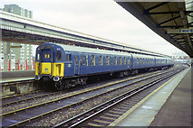 TQ2775 : Unusual train at Clapham Junction, 1991 by Robin Webster