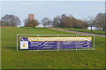 SU9850 : Easter week, Guildford Cathedral by Alan Hunt