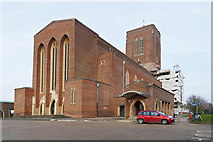 SU9850 : Guildford Cathedral by Alan Hunt