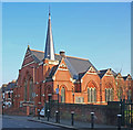TQ3188 : Disused church, Mattison Road by Jim Osley