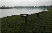 SK6443 : Seat overlooking the River Trent in Burton Joyce by Mat Fascione