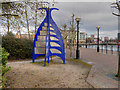 SJ8197 : Four Corners, Irwell Sculpture Trail by David Dixon