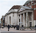 SP3378 : Bank buildings, central Coventry by Julian Osley