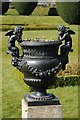 SX0863 : An urn in the gardens of Lanhydrock House by Philip Halling
