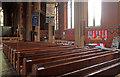 TQ2691 : Christ Church, North Finchley - South arcade by John Salmon