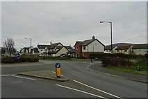 SC2583 : New housing by Poortown Road, Peel by Neil Theasby