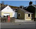 SS5499 : Postbox in a Tanygraig Road wall, Llwynhendy by Jaggery