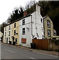 SO6015 : Three-storey houses, Central Lydbrook by Jaggery